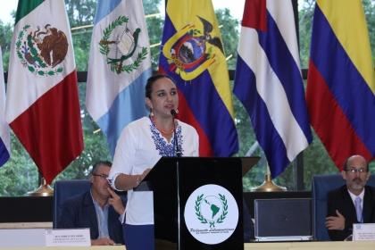 Presidenta de la Asamblea participará en reunión de la Junta Directiva del Parlatino