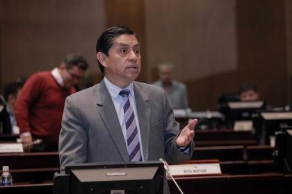 Mauro Andino, ponente del proyecto de reformas