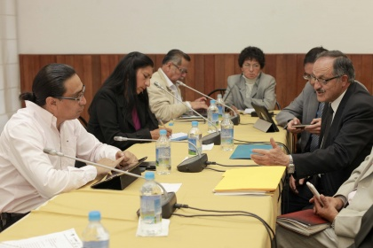 Comisión de Régimen Económico analiza avances de la economía popular y solidaria