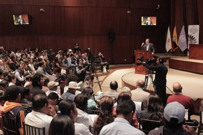 Audiencias públicas de semillas inician próxima semana en Cotopaxi y Santa Elena
