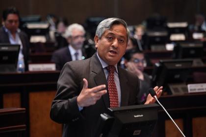 Por invitación de la ONU, Armando Aguilar expondrá dos temas en evento internacional