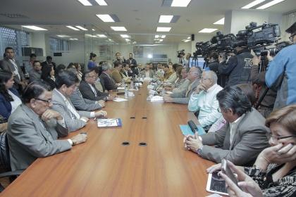 Comisión de Educación analiza situación de universidades intervenidas