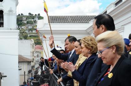 Foto: Mauricio Muñoz / Presidencia de la República.