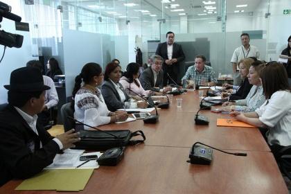 Comisión avanzó en tratamiento de cronograma de socialización de Ley de Tierras
