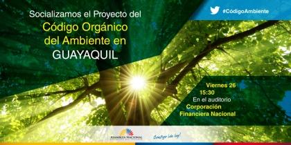 Manejo ambiental y protección animal se analiza en Foro en Guayaquil este viernes