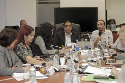 La Comisión de Régimen Económico analiza el proyecto de Ley para el Equilibrio de las Finanzas Públicas. Foto - Archivo