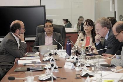 Comisión de Régimen Económico. Foto Archivo