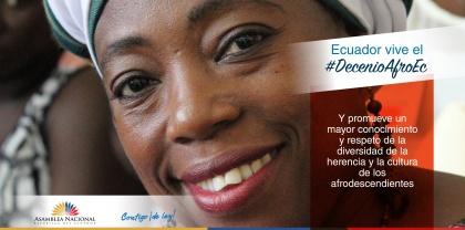 Decenio Afrodescendiente: Asamblea legisla para garantizar derechos de ese sector