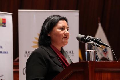 Asambleísta Dora Aguirre participará como ponente en Universidad Católica de Cuenca