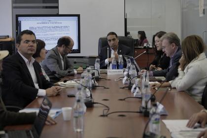 Comisión de Régimen Económico - Foto Archivo