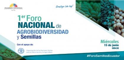 Se abrirán 8 mesas temáticas en Foro de Agrobiodiversidad y Semillas