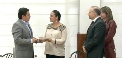 Gabriela Rivadeneira levanta receso para tratar proyecto que defiende empleo