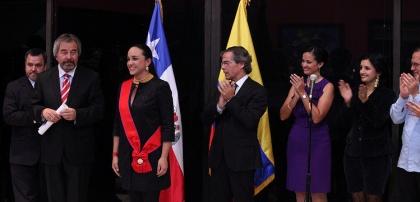 Gobierno de Chile impuso condecoración Bernando O'Higgins a Gabriela Rivadeneira
