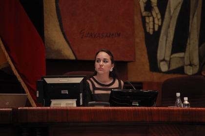 Gabriela Rivadeneira, presidenta de la Asamblea, convocó a las audiencias públicas provinciales sobre el proyecto de Ley de Semillas. Foto - Archivo