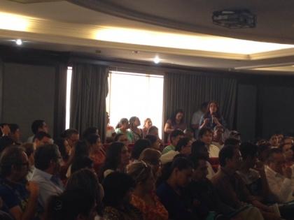 Guayas llenó auditorio por audiencia de Código Ingenios. Plantean varias inquietudes