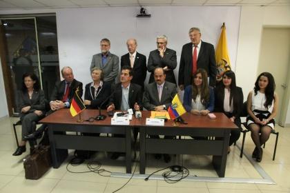 En la Asamblea se reafirman compromisos de cooperación entre Alemania y Ecuador