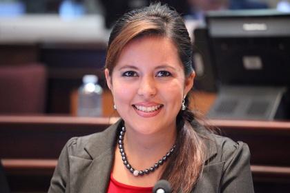 Asambleísta Johanna Cedeño. Foto Archivo