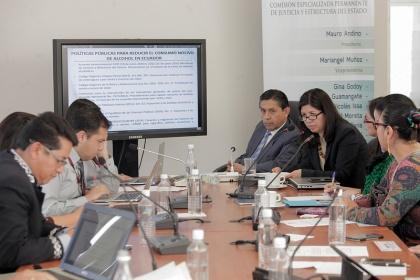 Comisión de Justicia y Estructura del Estado - Foto Archivo