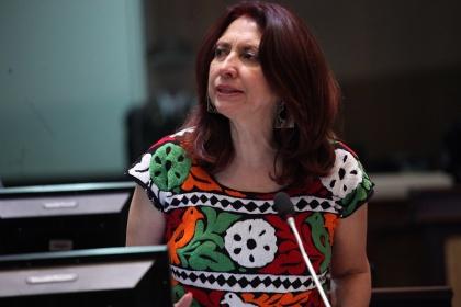 Asambleísta María Augusta Calle participará en la XXXI Asamblea del Parlatino