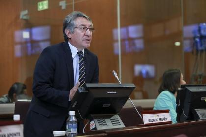 Mauricio Proaño, vicepresidente de la Comisión de Soberanía Alimentaria. Foto - Archivo