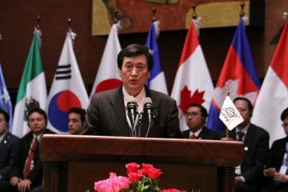 Queremos trabajar para promover la paz y el fortalecimiento de una cultura global