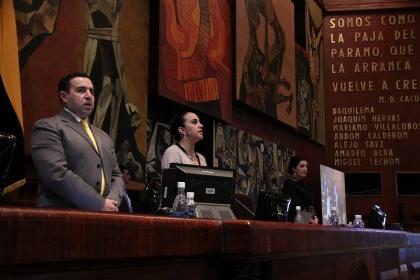 La sesión No. 363 del Pleno está convocada para este martes 12 de enero, a las 09h30, con el fin de tratar en primer debate el proyecto de reformas a la Ley de Economía Popular y Solidaria, según la disposición de la presidenta de la Asamblea Nacional, Gabriela Rivadeneira.