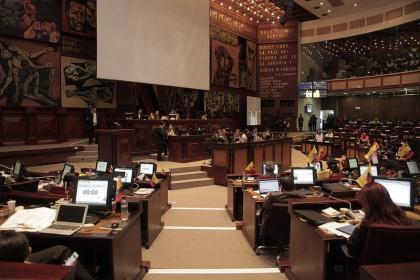 Pleno aprobó enmienda constitucional. Se remitirá al Registro Oficial