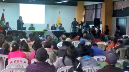 Ley de semillas fortalece trabajo de agricultores: Mauricio Proaño