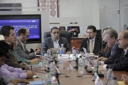 Procurador presentó cuatro observaciones a reformas Ley  de Lavado de Activos