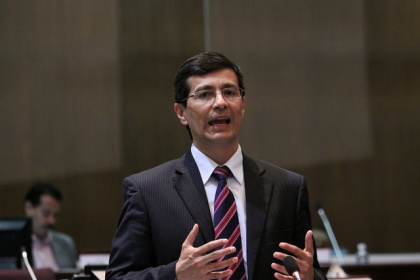 Richard Calderón presentó proyecto de Ley Orgánica de Ordenamiento Territorial