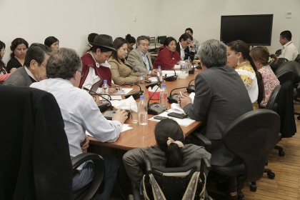 Parlamentarios dan aportes a borrador de proyecto de sanidad agropecuaria