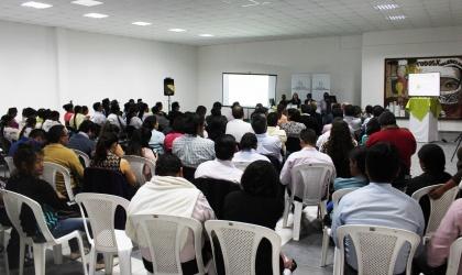 Ximena Ponce dice en Ibarra que Código Ingenios fomenta la investigación