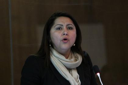 Asambleísta Ximena Peña - Foto Archivo