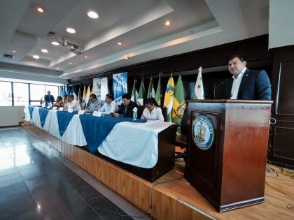 Presidente de la Asamblea Nacional respalda lucha contra el crimen y la delincuencia en el país