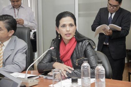 Asambleísta Lorena Bravo. Foto - Archivo