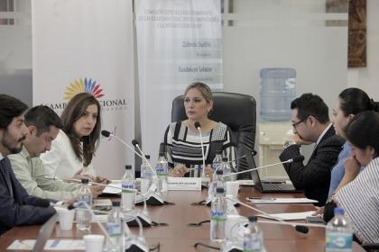 Comisión de Derechos Colectivos. Foto archivo.
