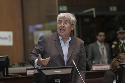 Asambleísta Carlos Velasco, vicepresidente de la Comisión del Derecho a la Salud. Foto Archivo