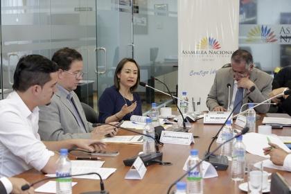 Ximena Ponce y Diego Vintimilla argumentan contenido y alcances de reformas a LOES