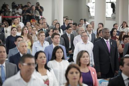 """Asamblea festejó a Guayaquil y la declaró como una """"Ciudad de Oportunidades"""""""