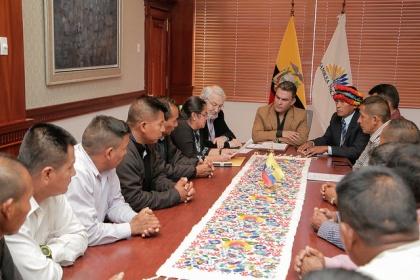 Excombatientes Arutan Amazónico 95 piden ser reconocidos como héroes de guerra
