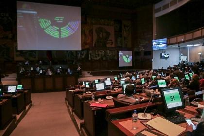Con 77 votos la Asamblea aprobó Ley del Sistema de Infraestructura Vial