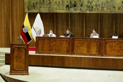 Diana Salazar, fiscal General, será recibida en la Comisión de Fiscalización
