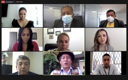 Comisión del Derecho al Trabajo, trabajdores cementeros,  trabajadores de salud HCAM,