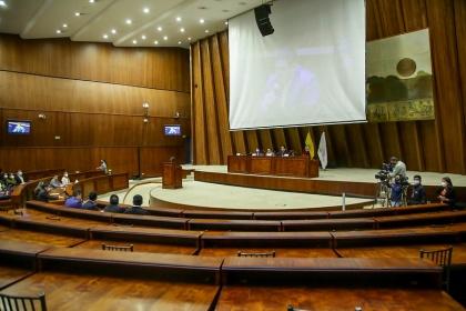Freddy Carrión ejerció su derecho a la defensa ante la Comisión de Fiscalización