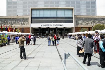 La Asamblea Nacional apoya el emprendimiento y abre sus puertas para realizar la Feria Intercultural y Plurinacional