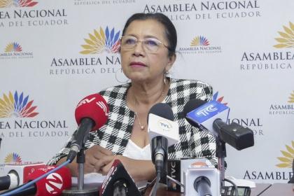 Guadalupe Llori: El pueblo ecuatoriano está cansado de disputas políticas, lo que necesita es estabilidad y trabajo