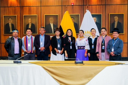 Sofía Sánchez presentó proyecto de enmienda constitucional con nuevos requisitos para ser asambleísta