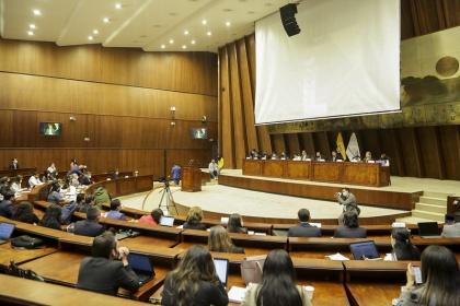 Ministros, Defensor del Pueblo, Secretaria de Derechos Humanos y SNAI explican acciones ante crisis carcelaria