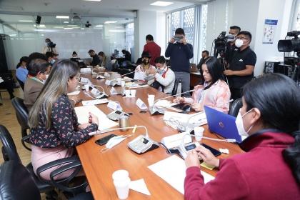 Fernando Cabascango: La convocatoria a la esposa e hijo del Presidente es una invitación, no una comparecencia