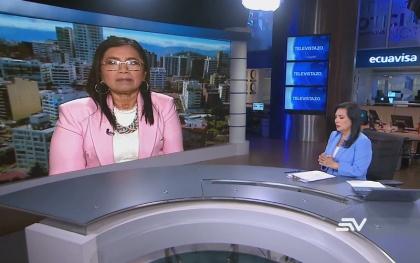 Guadalupe Llori: En el Legislativo no existe bloqueo